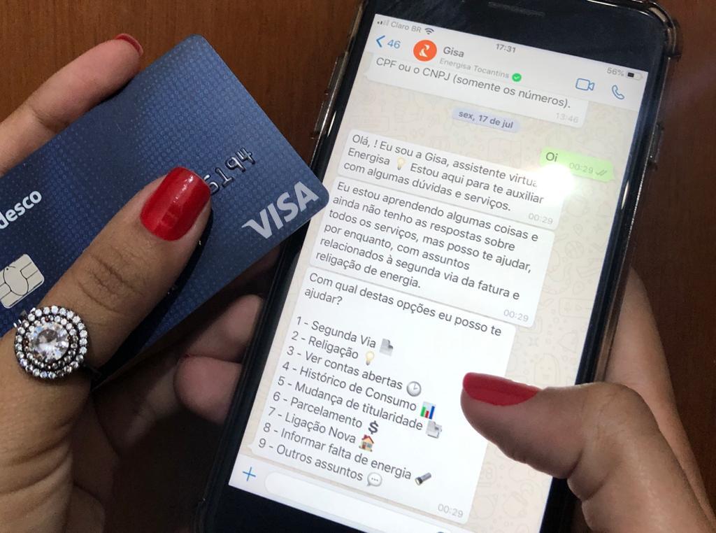 Clientes da Energisa podem parcelar contas vencidas em até 12 vezes pelo cartão de crédito