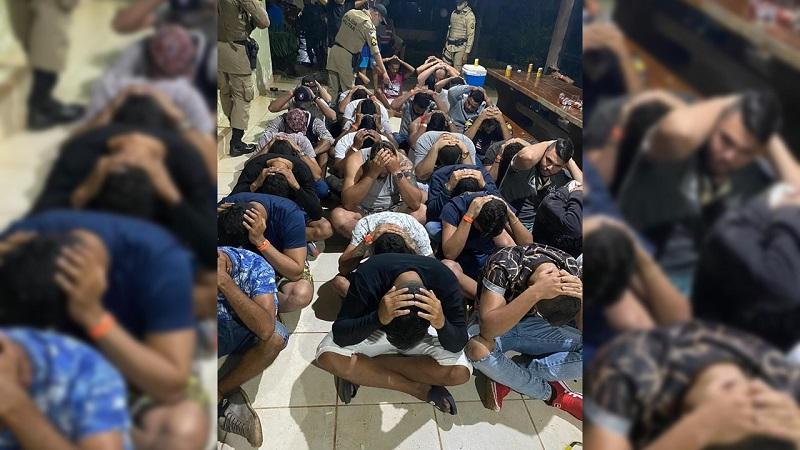 Polícia Militar encerra festa com cerca de 140 pessoas na região sul de Palmas