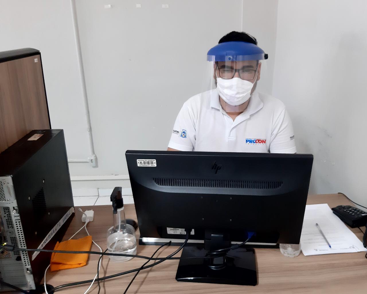 Procon Tocantins mantém cuidados na pandemia e reforça canais alternativos de atendimento ao consumidor