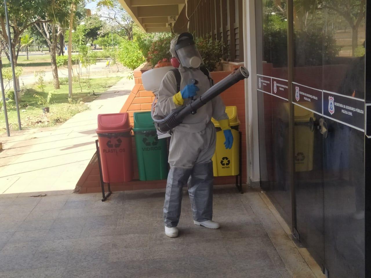 Segurança Pública mantém ações para evitar contaminação pelo novo Coronavírus