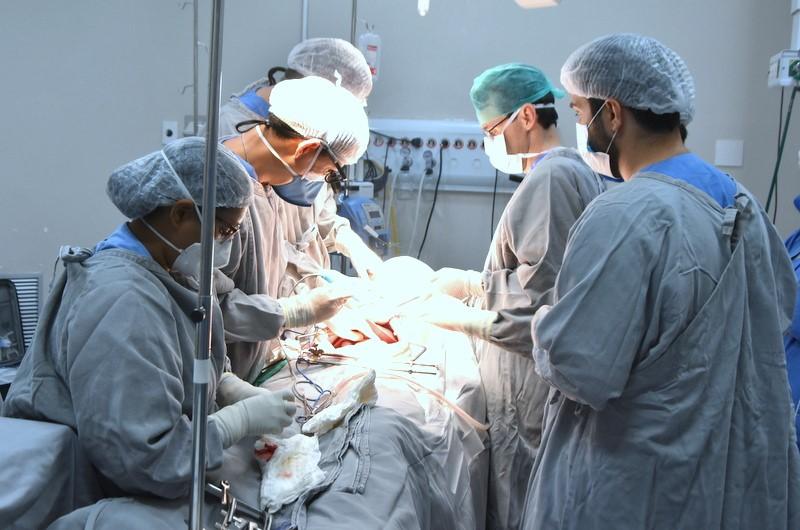 Seis pessoas serão beneficiadas com a captação de múltiplos órgãos no HGP