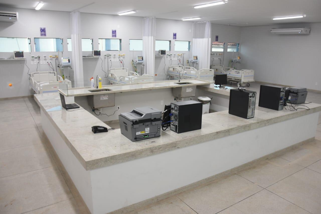 Após ação do MPTO, Hospital Regional de Augustinópolis inicia o funcionamento de 10 novos leitos de UTI Covid-19