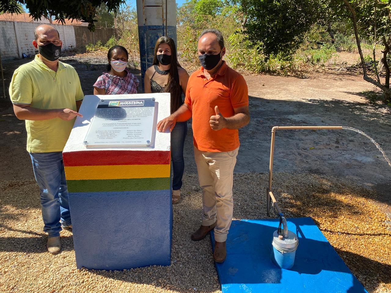 Prefeito de Miracema entrega melhorias à Educação no Assentamento Irmã Adelaide