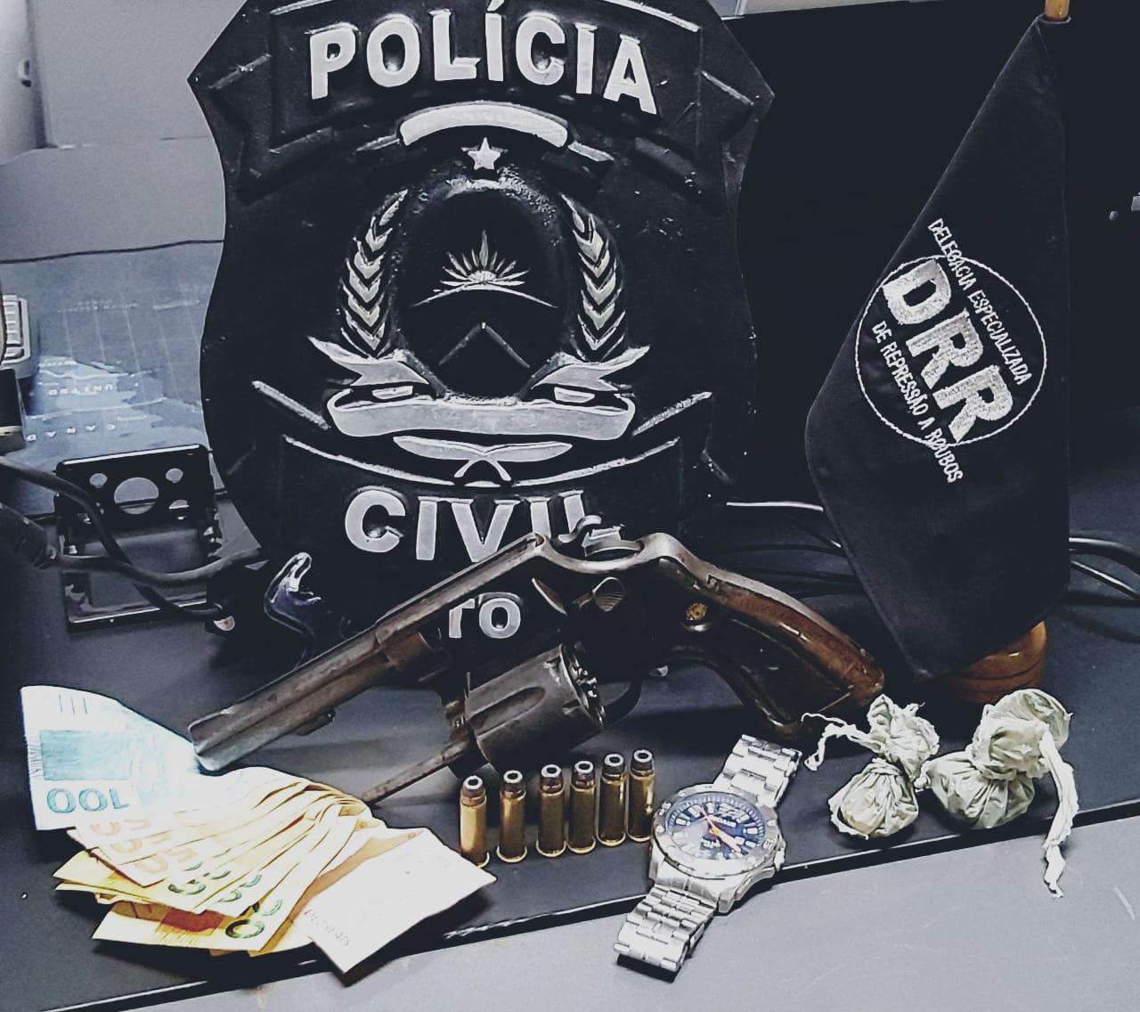 Em menos de 24 horas, Polícia Civil prende dois homens suspeitos de cometer roubos em série em Araguaína