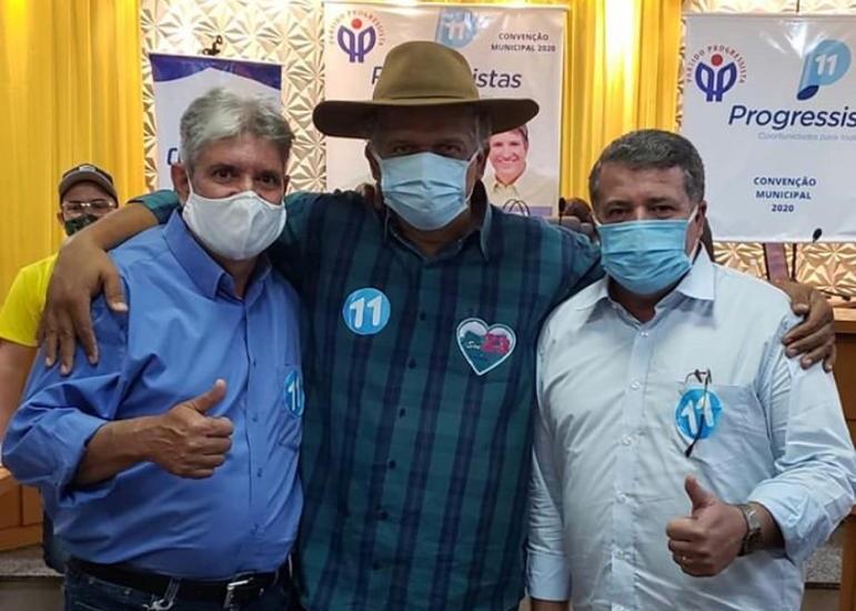 Com aval de Ivan Vaqueiro, Ary Arraes sai candidato a prefeito de Paraíso em chapa pura do PP da Senadora Katia Abreu
