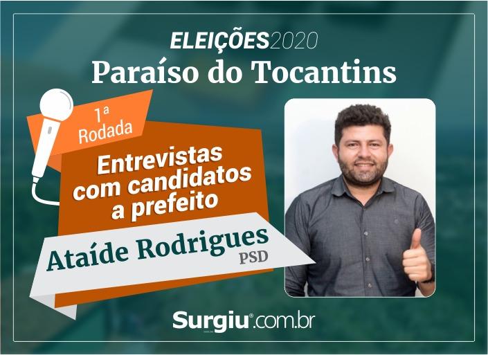 Ataíde Rodrigues participa da 1ª rodada de entrevistas com candidatos a prefeito de Paraíso