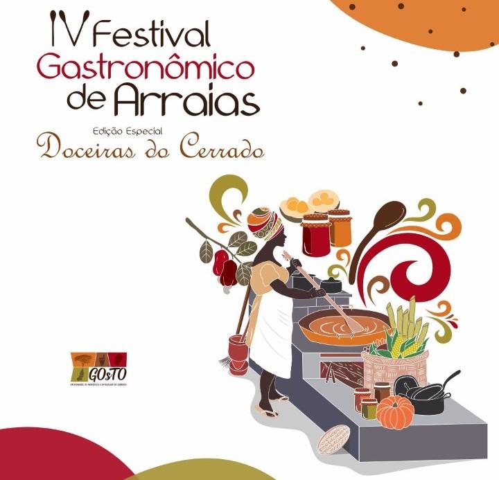 Festival Gastronômico de Arraias está com inscrições abertas