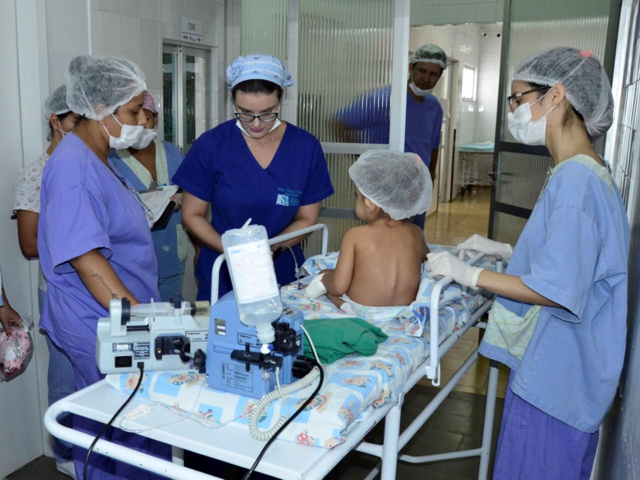 Tocantins celebra um ano de implantação do serviço de cirurgias cardíacas pediátricas