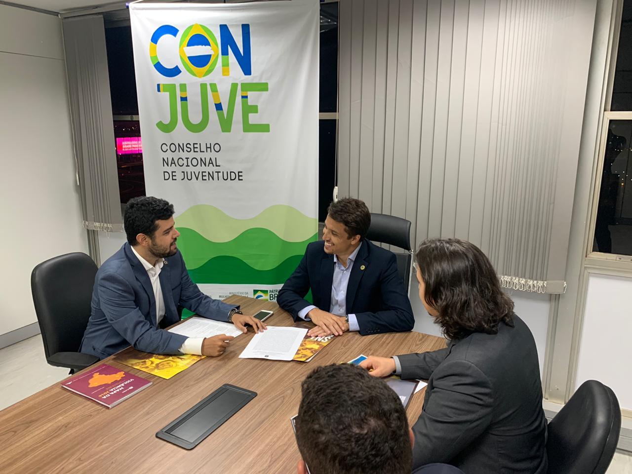 Conjuve se reúne em Brasília com diretoria de Políticas para a Juventude, para debater projetos direcionados aos jovens do Tocantins