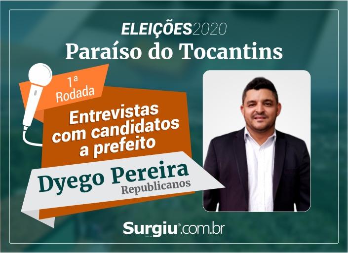 Dyego Pereira participa da 1ª rodada de entrevistas com candidatos a prefeito de Paraíso
