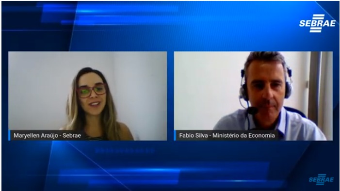 Ministério da Economia discute dispensa de alvarás e licenciamento para MEI tocantinenses durante live