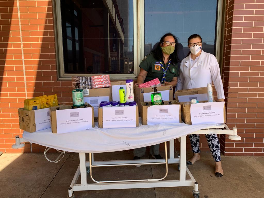 Ações solidárias fazem a diferença no Hospital Geral de Palmas