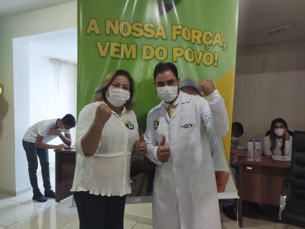PTB de Miracema confirma o nome do médico Marcio Abreu como pré-candidato a disputar cadeira no legislativo municipal