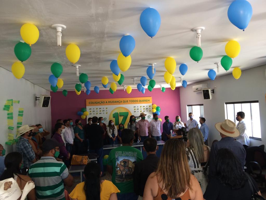 PSL lança candidatura de Nezita para prefeita de Monte Santo