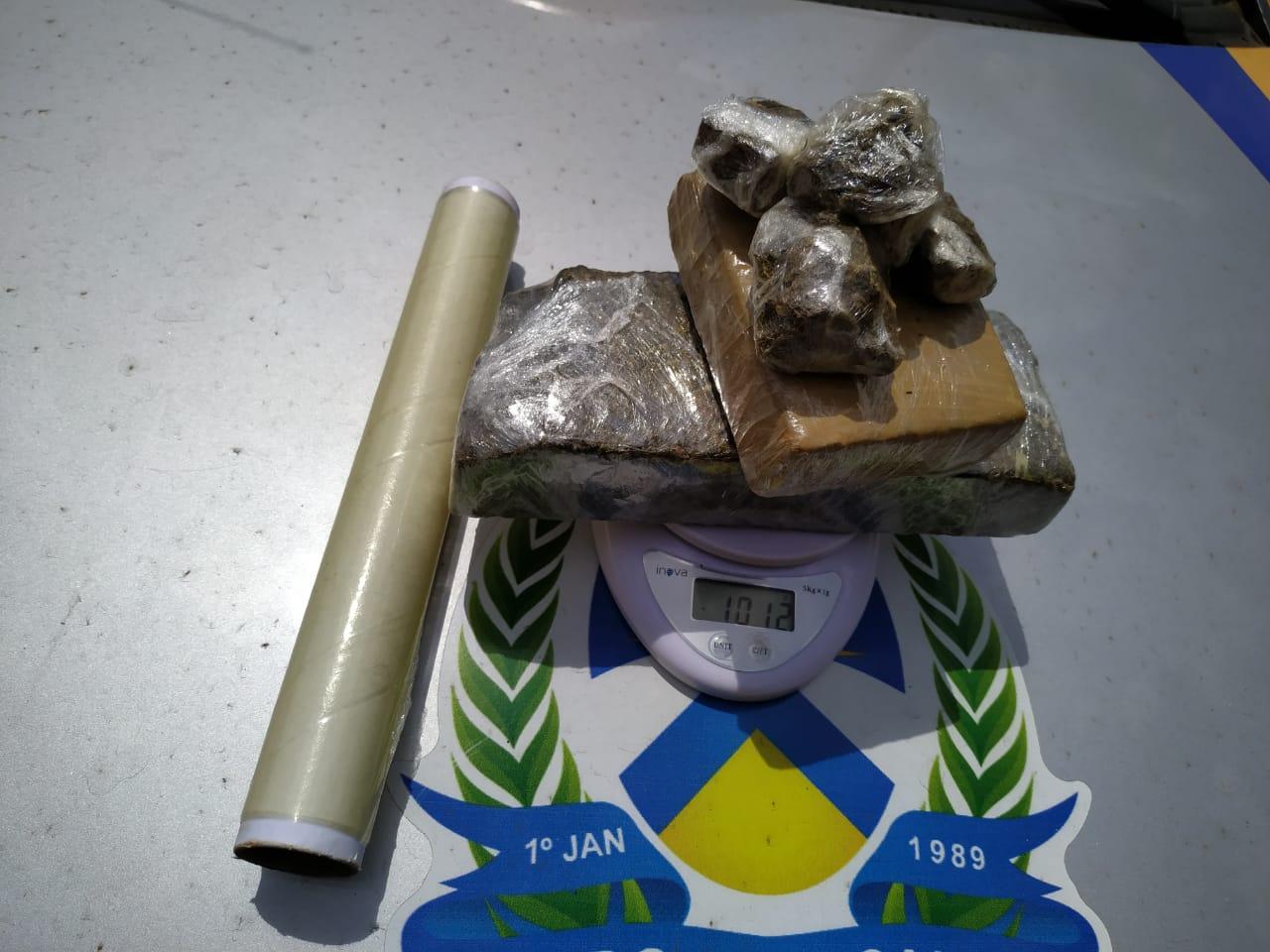 PM prende homem suspeito de tráfico de drogas em Palmas