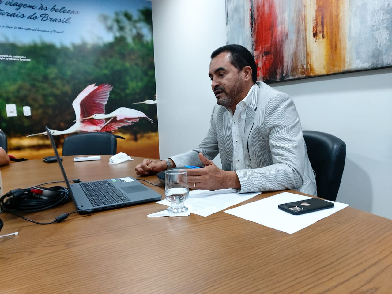Vice-governador Wanderlei Barbosa apresenta projetos de infraestrutura no encerramento do  21° Fórum de Governadores da Amazônia Legal