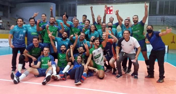 Com participação de atleta paraisense, Juarez Júnior, equipe do RN conquista acesso inédito para Superliga B de vôlei masculino