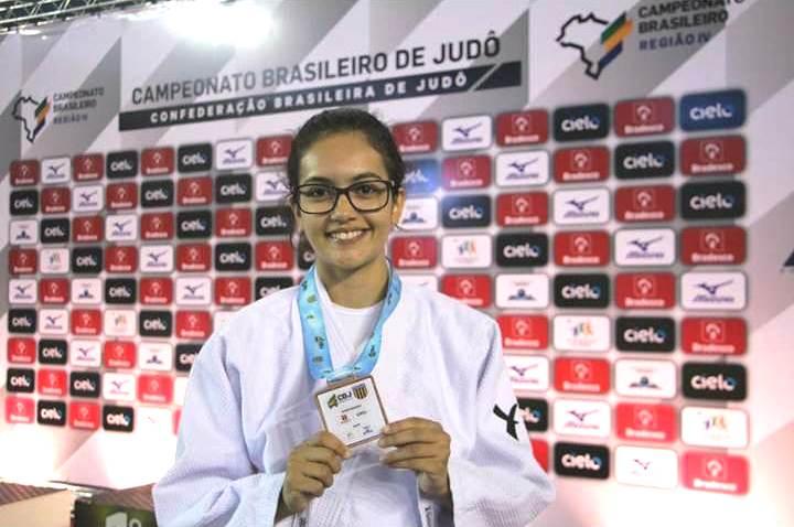 Tocantinense Maria Eduarda Hardman integra Comissão de Atletas de Judô Eletiva do Brasil