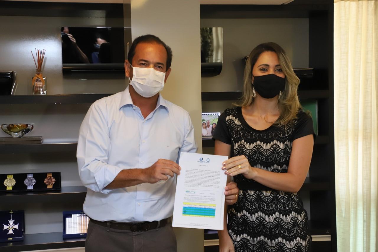 FIETO e TV Jovem Record Tocantins firmam parceria para realização de ações durante o processo eleitoral