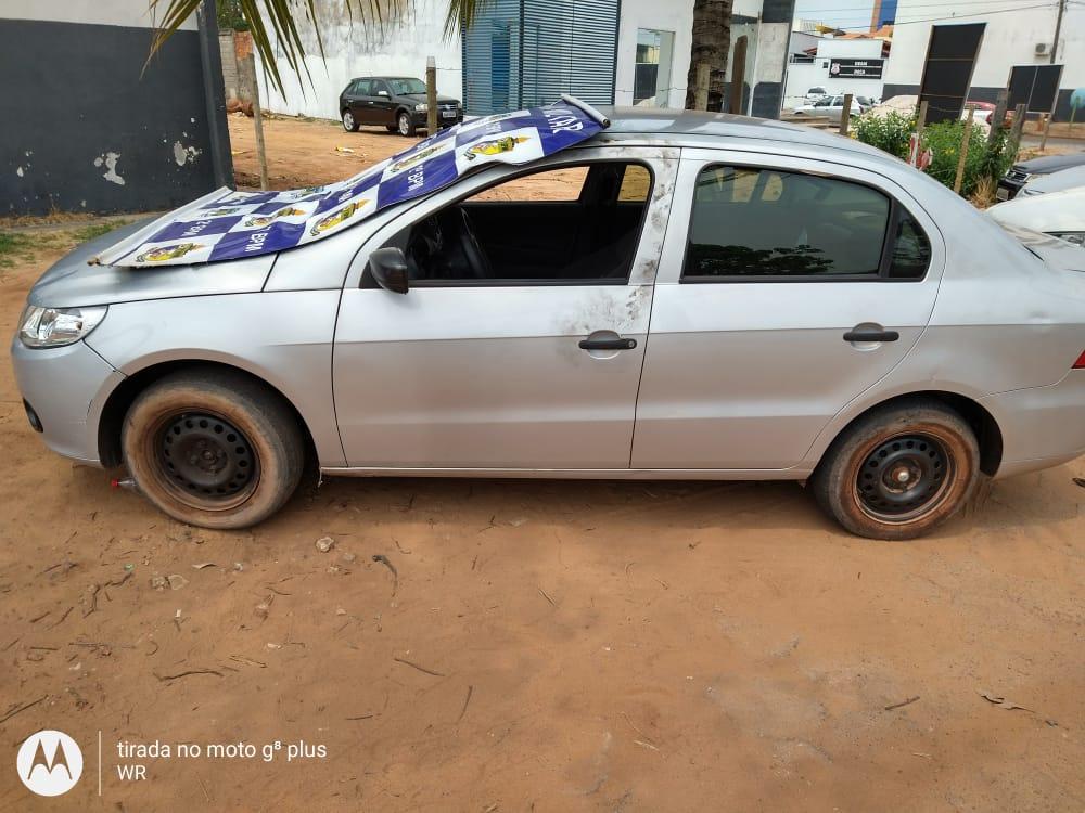 PM recupera veículo furtado em Araguaína