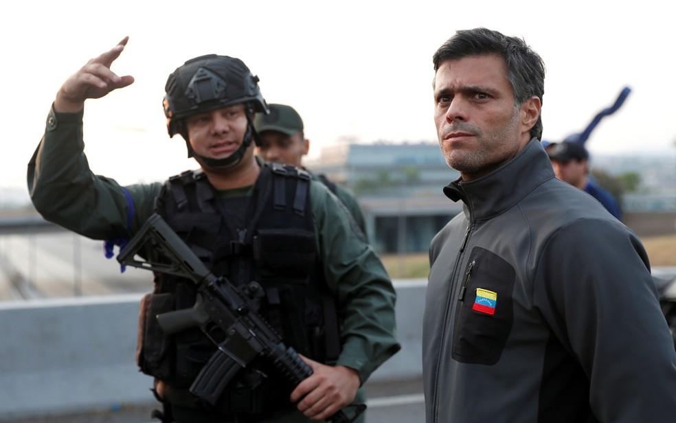 Líder da oposição venezuelana, Leopoldo López chega à Espanha após fuga