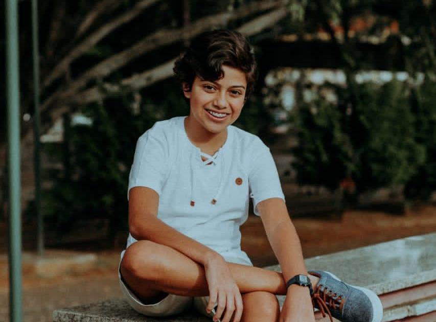 Modelo Teen, Igor Almeida busca destaque no mundo da moda