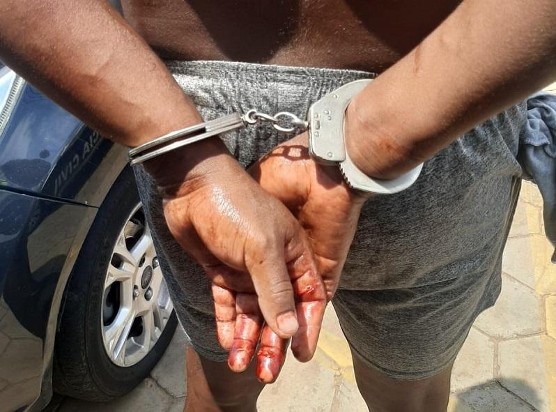 PM prende em flagrante autor de homicídio e tentativa de estupro em Porto Nacional