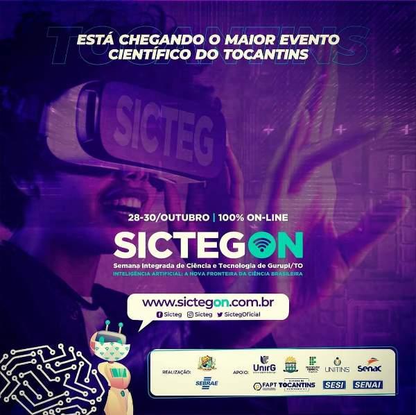 Sicteg On inicia nesta quarta-feira (30) com ambiente 100% online