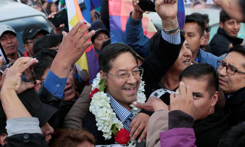 Luis Arce assume neste domingo a Presidência da Bolívia