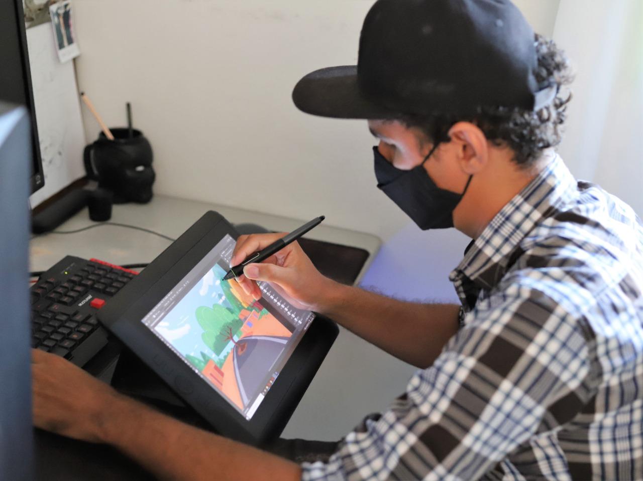 Araguainense é destaque em produções nacionais como designer de animação