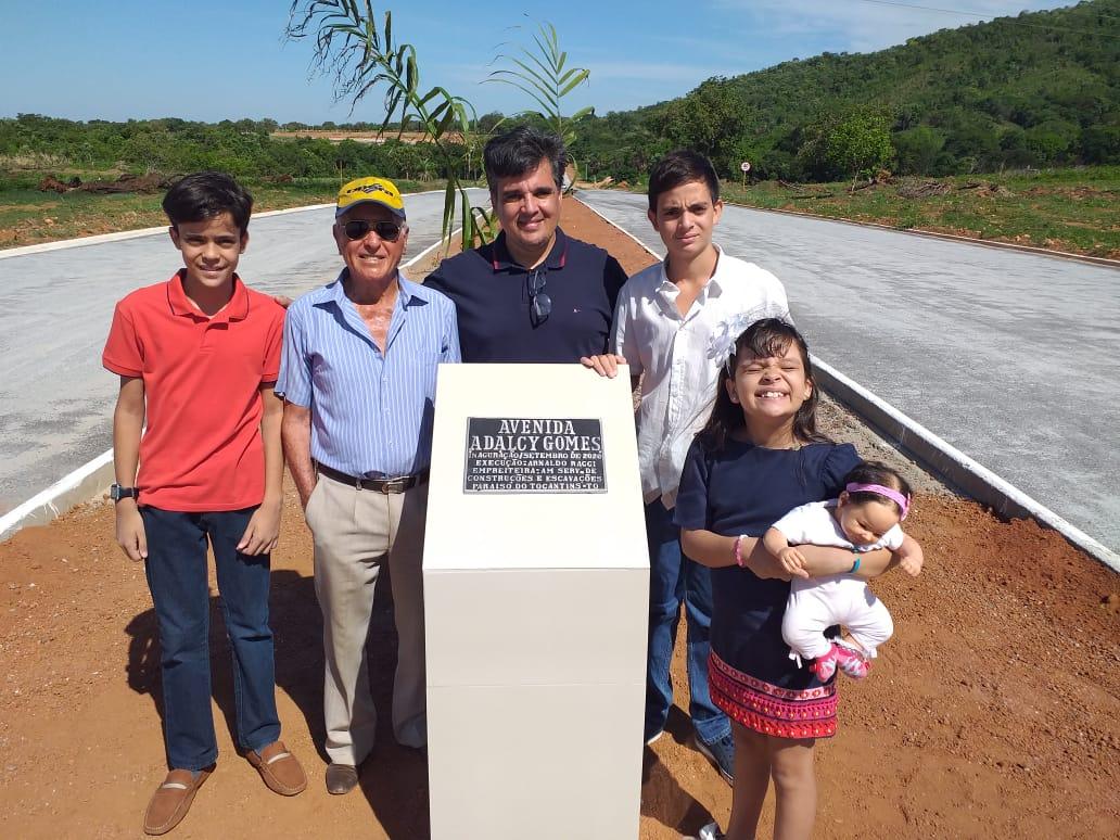 Raggi Empreendimentos inaugura Avenida Adalcy Gomes, que integra TO-080 e BR-153, em Paraíso