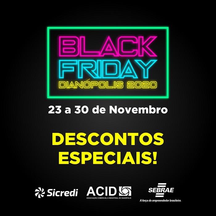 Black Friday de Dianópolis é aberta com carreata de lançamento