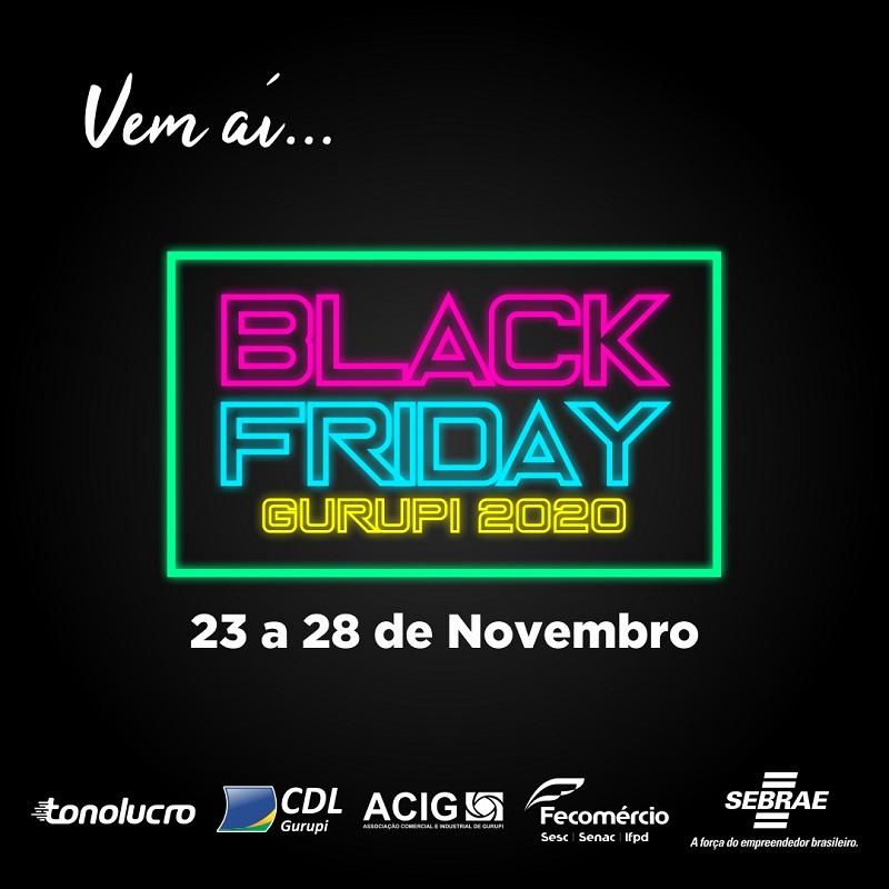 Empresários de Gurupi iniciam ação Black Friday 2020