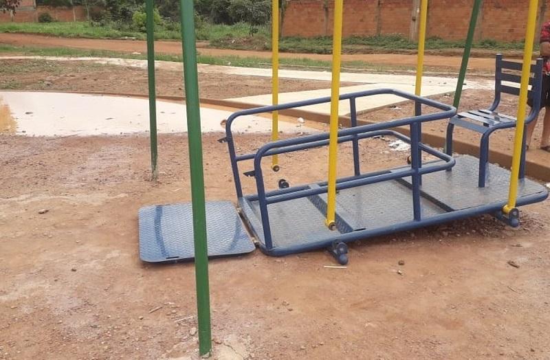 Criança de 10 anos morre após sofrer acidente em parquinho recém instalado em Palmas