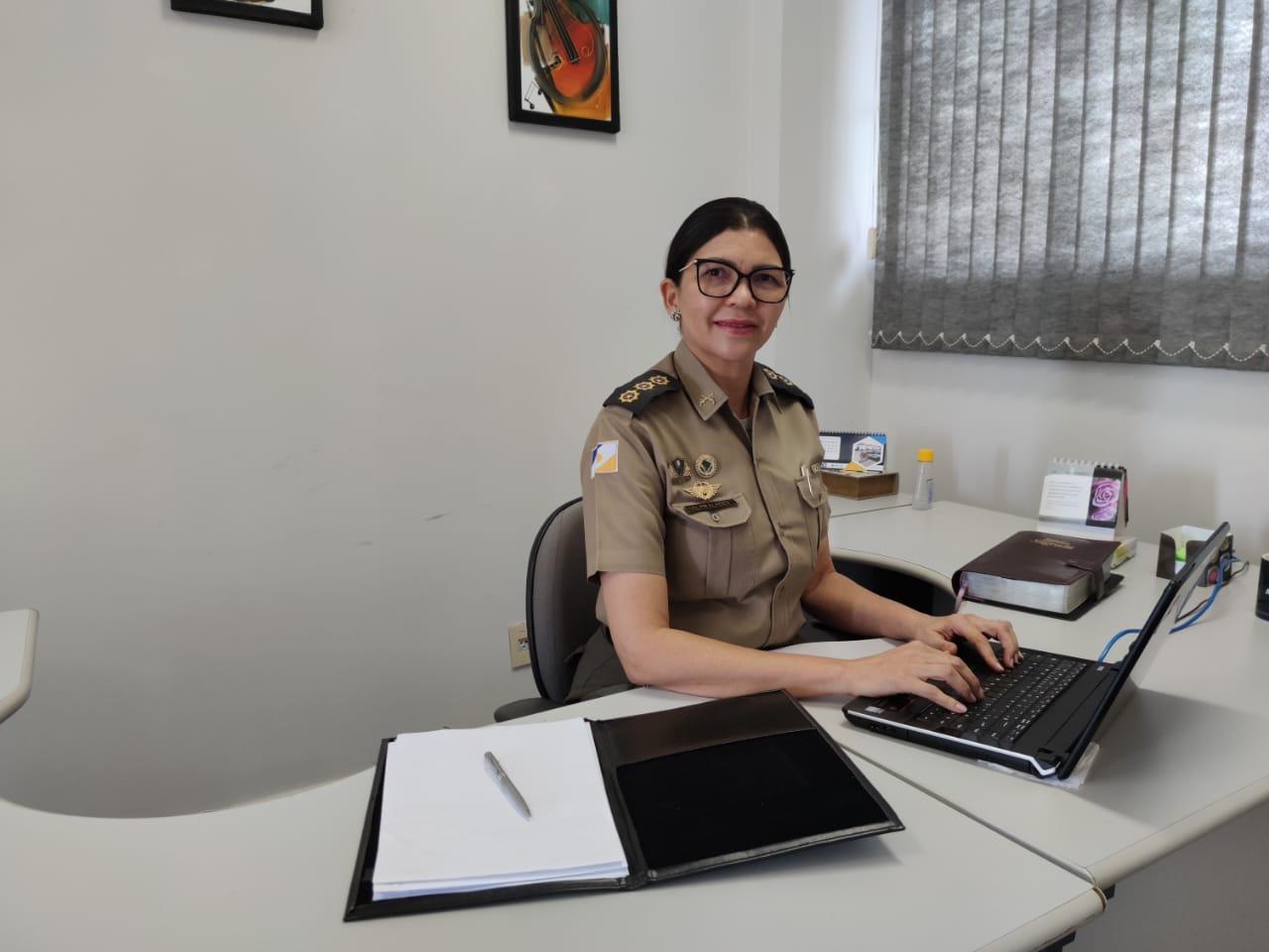 Polícia Militar tem primeira mulher a assumir função de alto comando na instituição