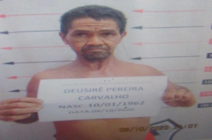 Suspeito de fugir da CPP de Palmas é recapturado pela PM no distrito de Taquaruçu