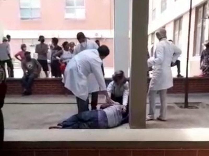 Paciente internado por abstinência de drogas se joga do 1º andar do HGP