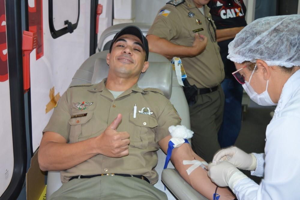Polícia Militar promove campanha de doação de sangue em Palmas