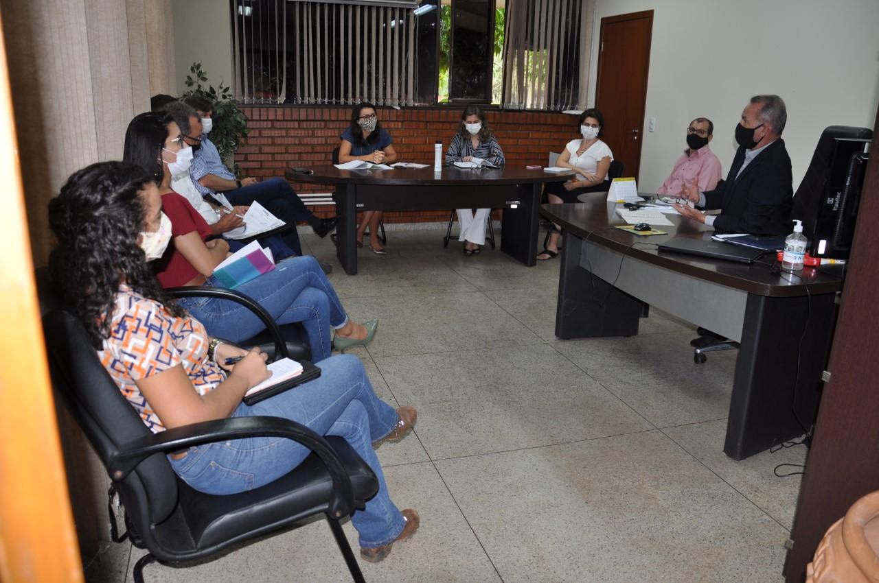 Agência de Regulação se reúne com gestor de Miranorte para tratar sobre o Novo Marco do Saneamento