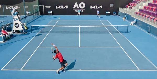 Depois de batalha de mais de 3 horas, Menezes para na segunda rodada do quali do Australian Open