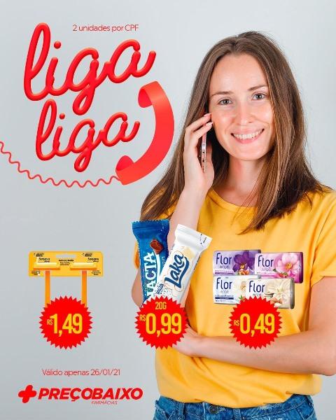Farmácia Preço Baixo de Paraíso tem ofertas especiais para o disk-entrega