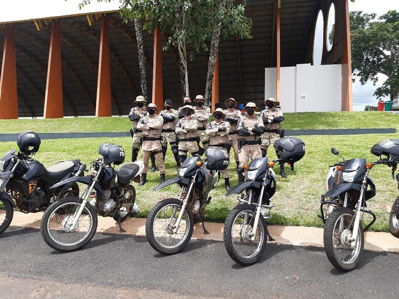 PM promove treinamento de pilotagem de alto risco com Equipes da Força Tática Motos do 2º BPM em Araguaína
