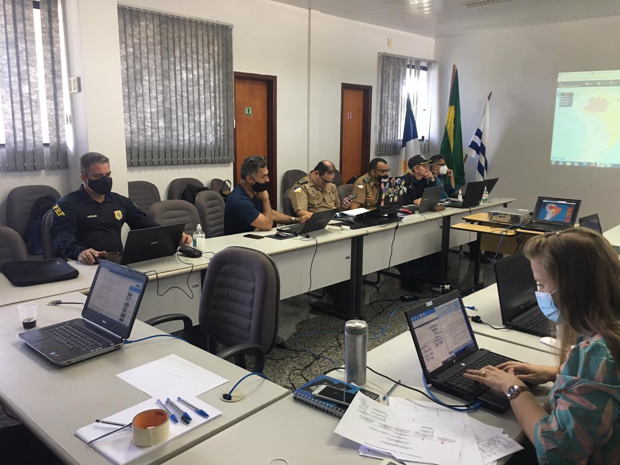 Forças de Segurança monitoram Enem 2020 e evento é realizado sem ocorrências policiais significativas
