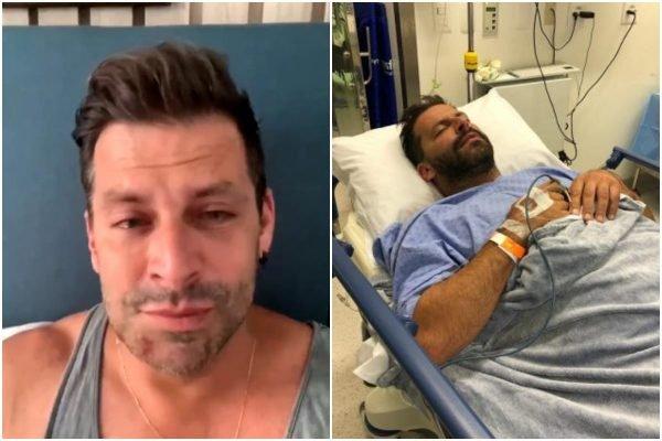 Ator Henri Castelli é agredido e tem maxilar fraturado
