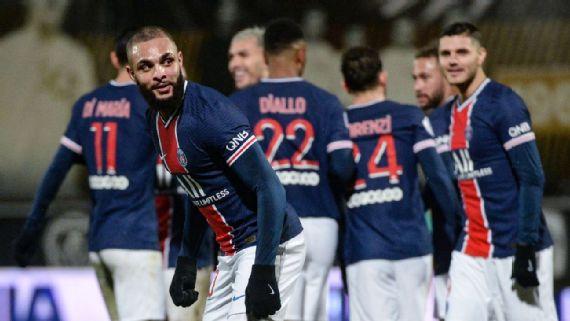 Neymar volta a ser titular e PSG vence o Angers por 1 a 0