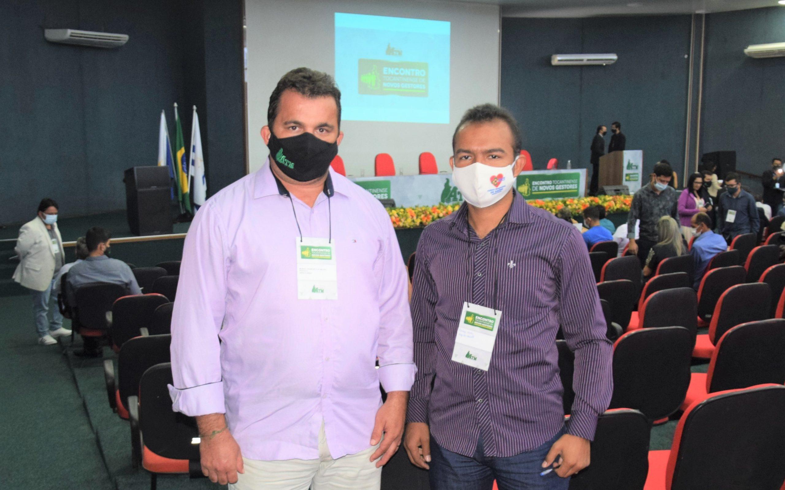 Prefeito de Abreulândia, Manoel Moura participa do Encontro de Novos Gestores da ATM