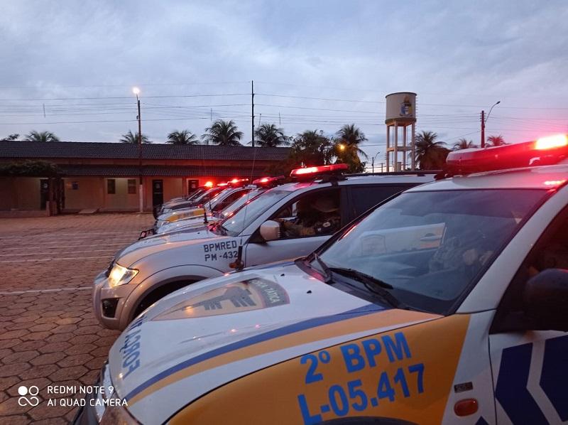 Comandante Geral da PM dá início à Operação Cidade Blindada em Araguaína