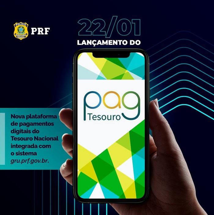 Serviços da PRF podem ser pagos por meio do PagTesouro