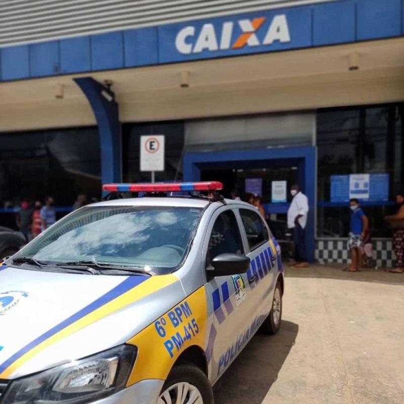 Duas pessoas são presas na região sul de Palmas após tentarem sacar FGTS com documentos falsos