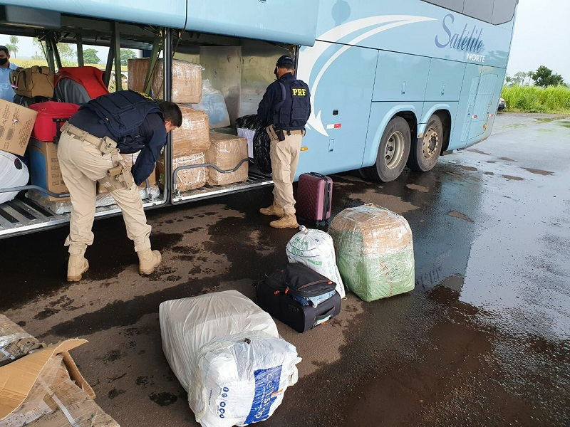 PRF apreende em Araguaína carga de produtos importados ilegalmente do Paraguai